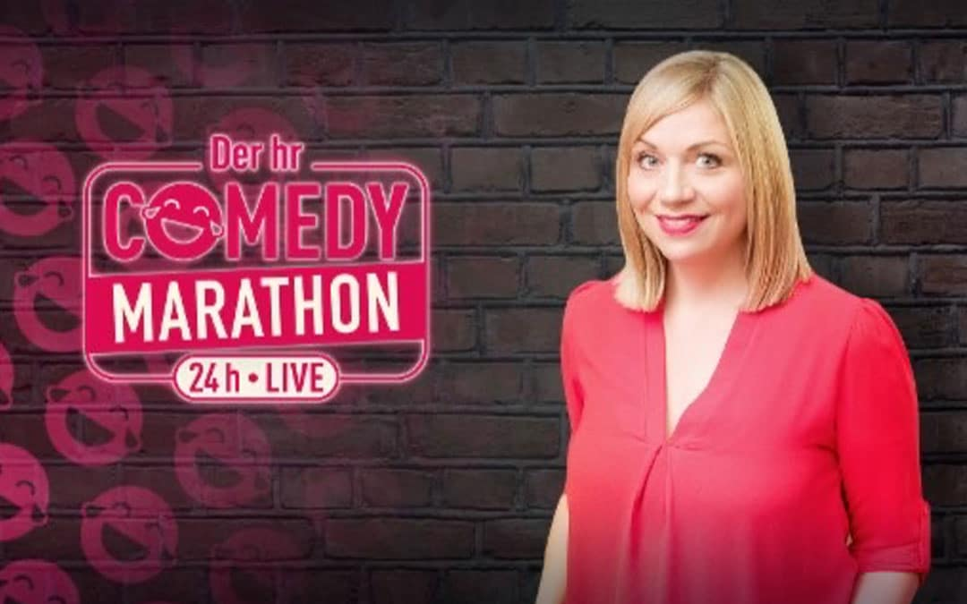 Mirja Regensburg beim hr Comedy Marathon